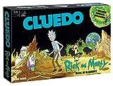 """Winning Moves 11422 Cluedo - Gioco da tavolo """"Il mondo"""", il mondo dei disegni colorati di scienziati Rick e il suo Enkel Morty, lingua tedesca"""