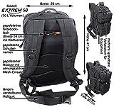 EXTREM Großer Rucksack 50 Liter Backpack Outdoor Robuster Multifunktions Military Rucksack für Backpacker | Camel (4076) - 5