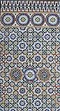 Restposten!!! 3 orientalische Keramikfliesen Alhambra- Wandfliesen Mosaikfliesen - Spritzschutz Küche