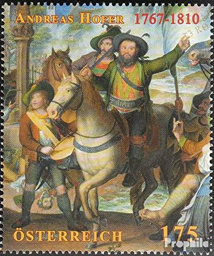austria-2856-completeissue-unmounted-mint-never-hinged-2010-death-andreas-hofer-stamps-for-collector