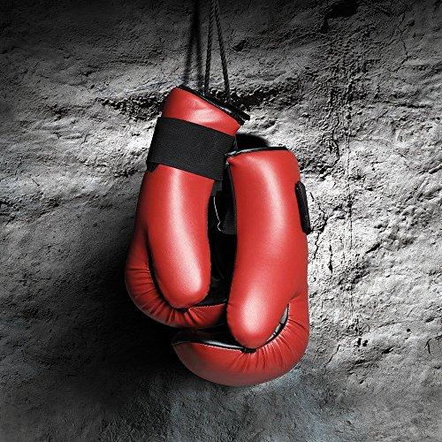 Apple iPhone 5s Housse Outdoor Étui militaire Coque Boxe Gants de boxe Fight Étui en cuir marron