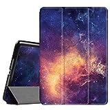 Fintie iPad Air 2 Hülle - Ultradünn Superleicht SlimShell Cover Schutzhülle Case mit Ständer und Auto Schlaf/Wach Funktion für Apple iPad Air 2 2014 Modell, Die Galaxie