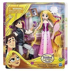 Disney Enredados - Playset Rapunzel Proposición Real (Hasbro C1750EU4)