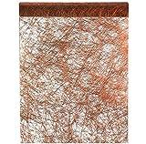 Santex Chemin de Table Fanon cuivre 30cm x 25m (x1) REF/4755