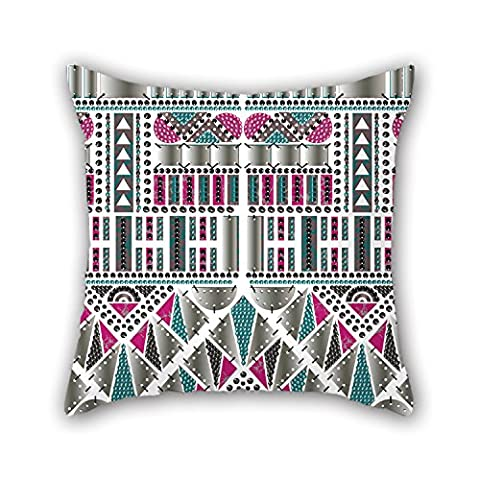 PILLO Geometry Throw Pillow Case 20 X 20 Inches / 50 By 50 Cm For Wife,valentine,bedding,family,valentine,bench With Double