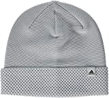 adidas Damen Beanie Mütze, Medium Grey Heather/Black, OSFM