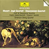 "Mozart, W.A.: String Quartets K. 458 ""Hunt""; K. 465 ""Dissonance"" / Haydn, J.: String Quartet, Op.76 No.3 ""Emperor"""