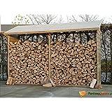 Abri bûches en bois Ottawa 2,56m²
