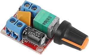 Arceli Dc Motor Drehzahlregelung Treiberplatine 3v 35v Elektronik