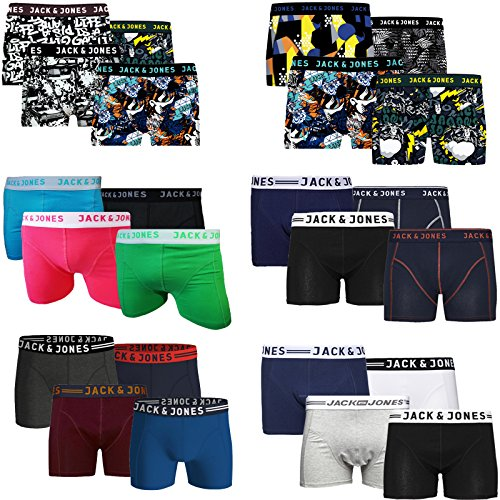 ec0f3417cbe9b4 Jack   Jones Boxershorts 4er Pack Trunks Boxer Shorts Unterhose CORE S M L  XL XXL 4er Pack