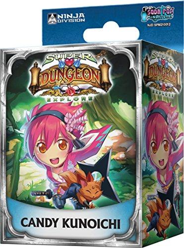 Asmodee-ubisde14-Super Dungeon Explore-Candy Kunoichi