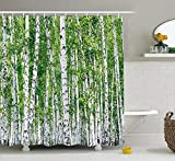 Made of 100-percent polyester fabric, the high-quality curtain hangs gracefully from top to bottom, while its stylish pattern invokes a feeling of calm and coordinates effortlessly with surrounding decor. Transform any bath into an elegant sp...