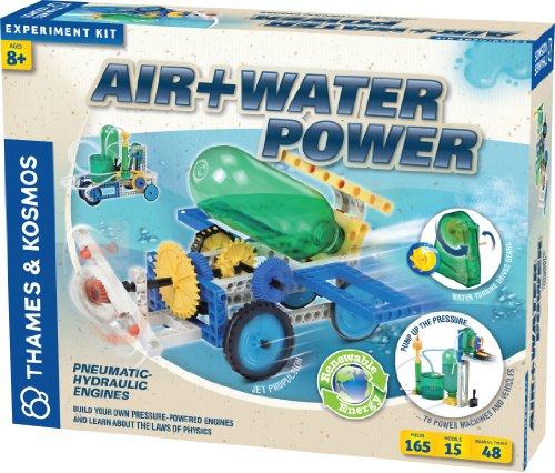 thames-kosmos-555001-modellino-kit-scientifico-air-water-power-15-modelli-costruibili-motore-idrauli