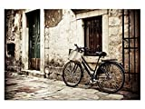 Vintage Retro Bild! Leinwand Bilder! Wandbild! Kunst Druck! Keilrahmen A05752 Größe 120 x 80 cm