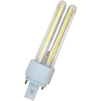 Bombilla LED PLC COB 10W 2U 34*152mm 6400K (Luz día)