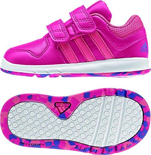 adidas Trainer 6, Baskets premiers pas mixte bébé Multicolore - Rosa / Fucsia / Azul