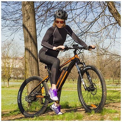 E Mootika Bici Elettrica Con Pedalata Assistita Modello Mountain
