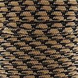 Cordon Paracorde -corde de parachute- 2 mm Beige/Olive x1m