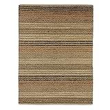 Flair Rugs Teppich Natural Living Seegras gewebt Textur Teppich, Natur, 60 x 230 cm