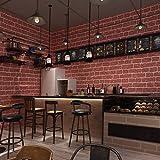 Industrie Architektur natrul Brick Effekt Geprägt Tapete – 33 '(10 Mio.), Rolle, die ganz