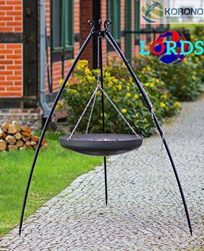 132Stahl schwarz 60cm Gitter auf Stativ Einmachglas 2,0mm hochwertige Qualität Handgefertigt, Hergestellt In Polen