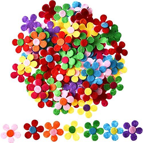 lz Blumen Stoff Blumen Verschönerungen für DIY Handwerk, Verschiedene Farben ()
