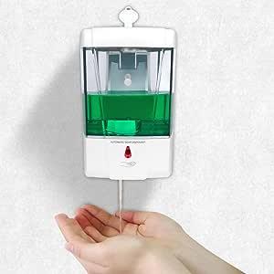 AOZBZ Dispenser di Sapone a Mano Senza Contatto 700ml Dispenser di Sapone a sensore Automatico a Parete con Montaggio a infrarossi Pompa per lozione del Sapone da Cucina Senza Contatto