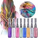 Temporäre Hair Chalk,Haarkreide-Set,8 Farben Farbstoff Mascara Mascara, perfektes Geschenk für Mädchen Kinder Frauen