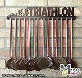 Sport Medaillen Anzeige - Medaille Wand - Medal display (TRIATHLON design)