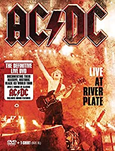 AC/DC - Live at the River Plate  (+ T-Shirt XL/+ Poster)