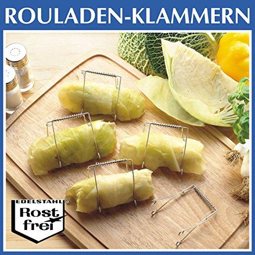 WENKO Rouladenklammern-Set, 10-teilig