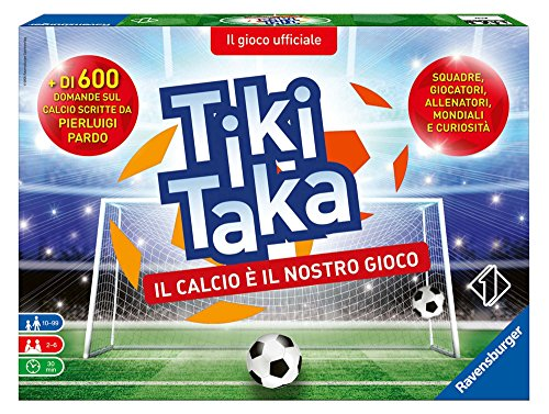 Ravensburger Italy Tiki Taka Il Calcio, Gioco di società, 26791