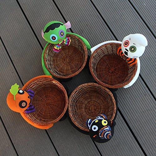 oration Puppen Kürbis Gespenst Obstteller Ornamente Bar eingerichtet ktv liefert Süsswaren Biscuit Obstkorb, und der Stil ist Random ()