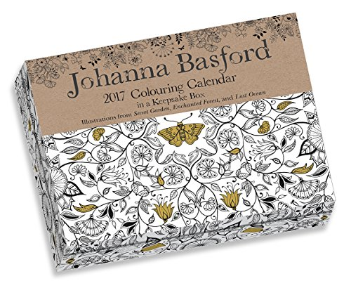 Libro Johanna Basford 2017 Colouring Day To Day Calendar