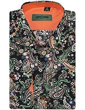Xposed -  Camicia Casual  - Paisley - Uomo