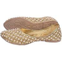 Zoya Collection Present Trading Company Women's Ethnic Rajasthani Handmade Jutti/Mojari