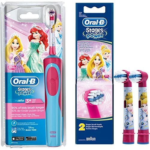 Bajo de Juego: 1 braun Oral-B Stages Power Advance Power Kids 900TX zahnbuerste...