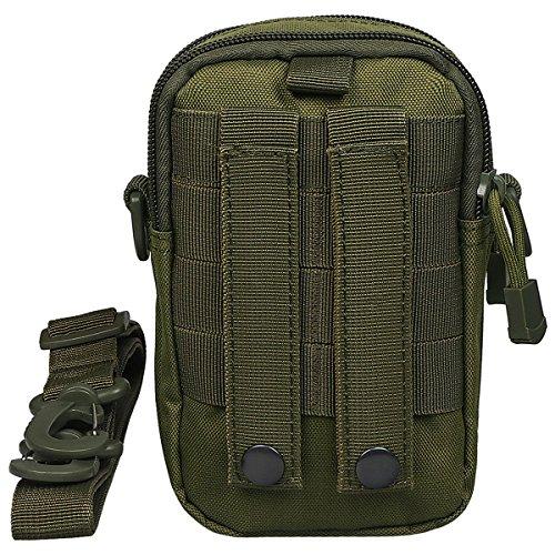xhorizon Borsa Custodia per Accessorio Pochette Universale per Telefono Armata tactical pouch per iPhone 6/6s 6Plus 7 8 Samsung Galaxy S6 S5 S4 #2