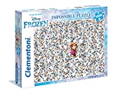 Clementoni 39360.2-Puzzle-Impossible-Frozen