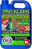 Pro-Kleen 5 Litres - Simply Spray & Walk Away Concentrate Patio - Fencing - Decking - Green Mould and Algae Remover (5L Simply Spray)