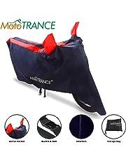 Mototrance Sporty Arc Blue Red Bike Body Cover for Suzuki Access 125