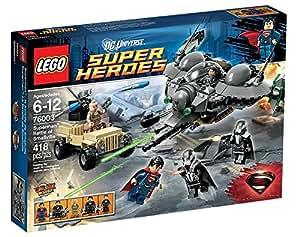 LEGO Super Heroes 76003 - Superman, La Battaglia di Smallville