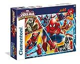 Clementoni 24053 - Puzzle Maxi Spiderman Web Warriors, 24 Pezzi