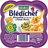 Blédina blédichef mousseline légumes & patates douces 250g dès 15 mois - ( Prix Unitaire ) - Envoi Rapide Et Soignée