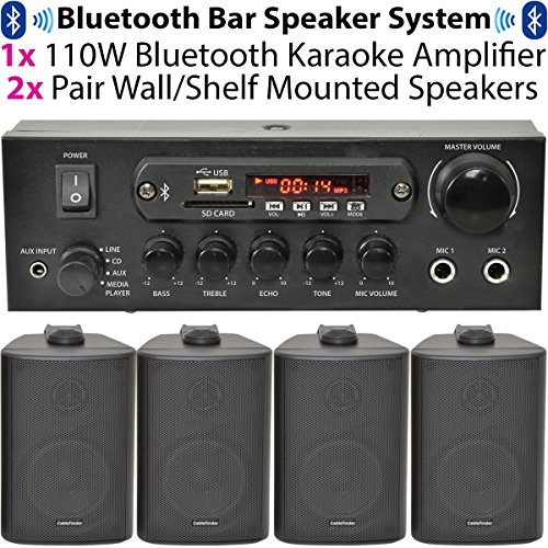 BarRestaurantHome-Bluetooth-Wall-Mounted-Speaker-System-Wireless-Background-Music-Player-Amp-Amplifier-Kit–PERFECT-WITH-AMAZON-ECHO-DOT-or-in-Shops-Clubs-Pubs-Cafs-Office-More