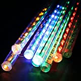 Raindrop RGB Sticks – Create artificial Raindrop – 8 Sticks 12 inches each. FESTIVE Decoration!