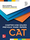 Chapter-Wise Solved Previous Years' Papers for CAT By Arun Sharma and Meenakshi Upadhyay