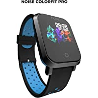 Noise ColorFit Pro Fitness Watch/Smart Watch/Activity Tracker/Fitness Band with Colored Display Waterproof,Heart Rate Sensor, Call & Notification Alert with Music Control Features (Sport Blue-Black)