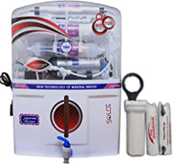 DE AquaZpure 15L 14 Stage RO UV UF TDS Alkaline Water Purifier with Full KIT (A1027)