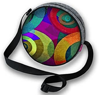 Filztasche Damentasche Handtasche Umhängetasche Schultertasche TWIST Orbit